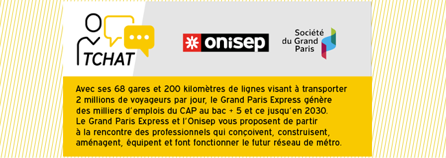 Construction du Grand Paris Express : participez au tchat !