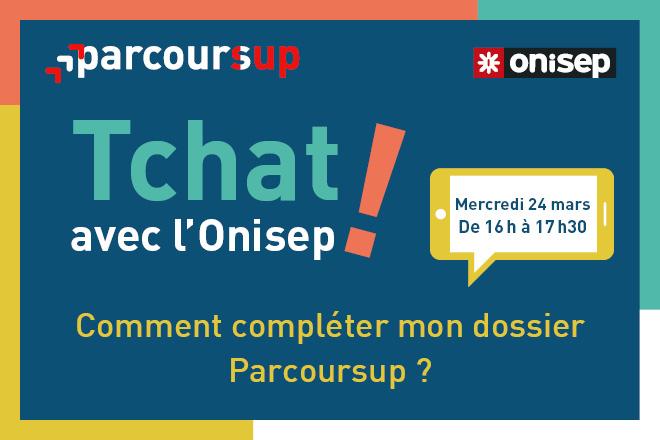 Mercredi 24 mars (16h - 17h30) : comment compléter votre dossier Parcoursup ?