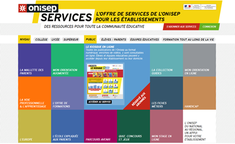 Le site Onisep services